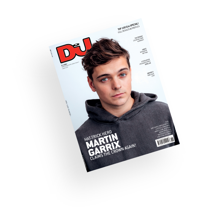 DJ magazine cover by musicpromotoday