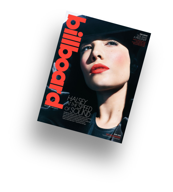 Billboard magazine cover by musicpromotoday