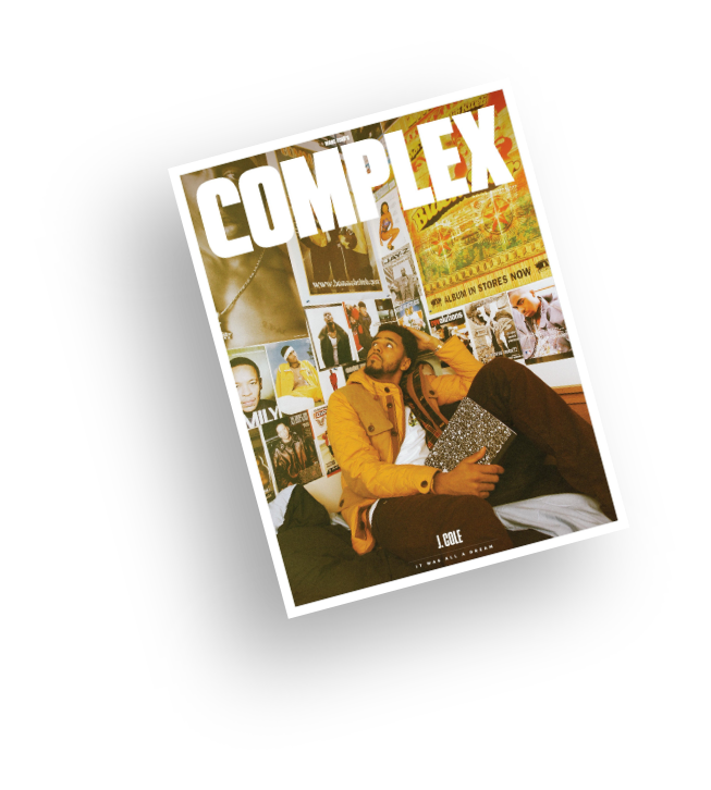 Complex magazine cover by musicpromotoday