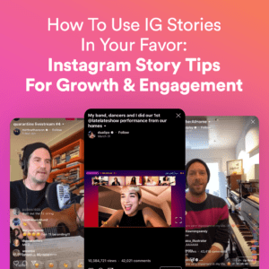 how to grow instagram with instagram stories -musicpromotoday