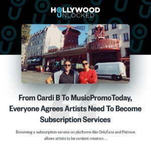 hollywood unlocked musicpromotoday